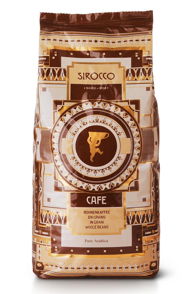 SIROCCO (Швейцария) Кофе Sirocco Milano Bar, зерно (250 гр)