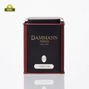 Черный чай Dammann The 7 Parfums / Семь Ароматов (100 гр)